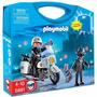Playmobil 5891 Maletin Policia Ciudad Rescate Retromex