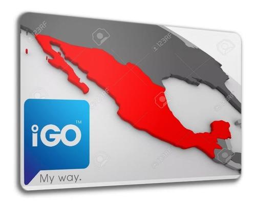 Ultimo Mapa De México P/ Navegadores Con Gps Igo Primo Igo8