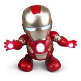 Robot Bailarín De Iron Man Tiktok, Juguete Electrónico