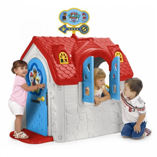 casita para nios paw patrol casa infantil exterior de feber