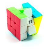 Cubo Rubik 3x3 Qiyi Warrior W Lubricado