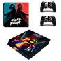 Skin Ps4 Slim Daft Punk Para Consola Y 2 Controles