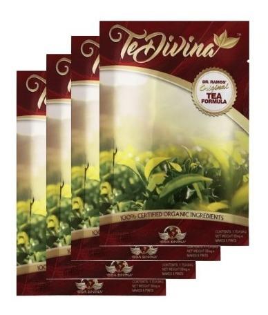 Te Divina Original 100% Detox Organico 4 Sobres Envio Gratis
