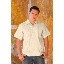 Guayabera Yucateca Hombre Pedro Lino/algodón Manga Corta