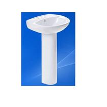 Lavabo Axcent Ceramica Pedestal Varsi/verona 56x44x81cm