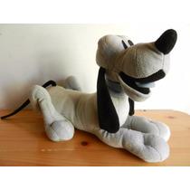 Disney Pluto Peluche De Color Blanco Y Negro Raro De Sega.