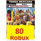 80 Robux En Roblox Entrega Al Instante