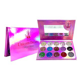 Paleta De Sombras Unicorndream Glitter Moda Maquillaje Ojos