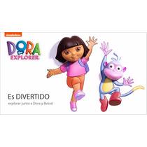 Lampara De Noche 3d Dora La Exploradora Y Botas