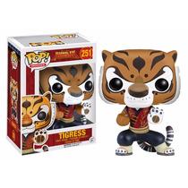 Tigress Funko Pop Kung Fu Panda Tigresa Tigre Pelicula Po