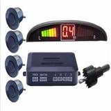 Sensores De Reversa Display Universales 4 Sensores Para Autos Con Alerta De Sonido Frente Y Trasero Gran Calidad