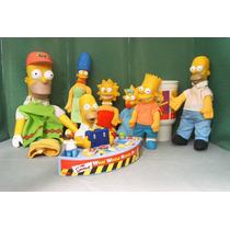 Simpson Homero Lote 7 Figura & Diorama P Compra Ve Descrip
