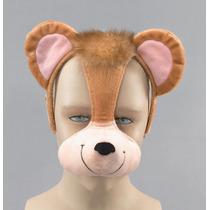 Mono Traje - Diadema Máscara Orejas Y Sonido Vestido De Lujo