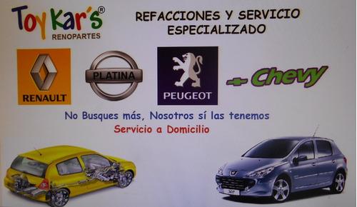 Tapon Rin 14 Renault Clio Platina Original   Juego4piezas Foto 2