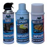 Kit De Aire+espuma+dielectrico Tekclean (1 Unidad C/u)