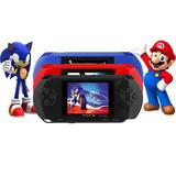 Lote 2 Consolas Portátil Pxp3 200 Juegos Nintendo Y Sega
