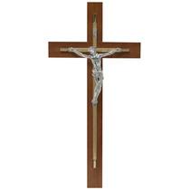 Cristo, Cruz, Crucifijo. Chapa De Oro Con Plata $545.00