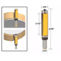 Fresa Router Pattern/flush Doble Balero Yonico 1/2 Copiador