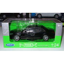 1:24 Mercedes Benz Clase S Negro C Caja Welly