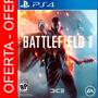 Battlefield 1 Ps4 Playstation 4 + Sellado, Envio Gratis