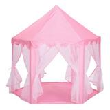 Casita Castillo Princesa Tienda Carpa Rosa Para Niñas