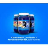 New Shine Gel Almorol Llantas 5 Piezas Abrillantador Vinil