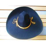 2 Sombrero Charro Mariachi Negro Toquilla Adulto Mexico 09998dff5c6