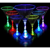 Copa Martinera Luminosa Led Multicolor Fiestas Eventos Neon