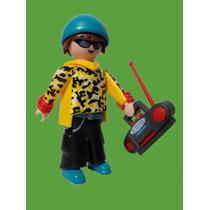 Playmobil 5598 Rapero #5 Serie 9 Musica Rap Retromex
