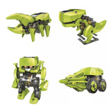 Juguete Didactico Steren Solar 4 N 1  K-455 Dinosaurio Robot