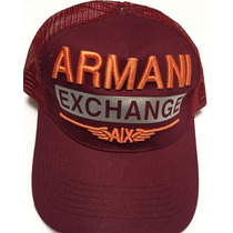 Gorras Armani Exchange, Gucci, Boss, Lacoste,