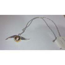 Collar Saga Harry Potter Snitch Dorada
