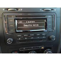 Estereo Vw Vento Bluetooth Aux Usb Módulo Canbus Arnes