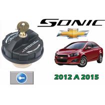 12-15 Chevrolet Sonic Tapon De Gasolina Con Llaves