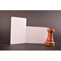 Paquete De 230 Credenciales De Pvc Blancas