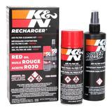 Kit De Limpieza K&n 99-5000 Para Filtro De Aire De Motor