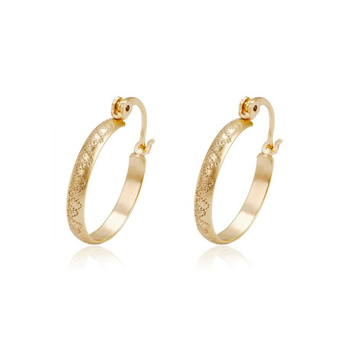 d945a0815e9e Finas Arracadas Diamantandas De Oro 14k Lam 2.3 Cm en venta en ...