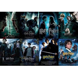 Coleccion Harry Potter Peliculas Full Hd 1080 & 4k Latino