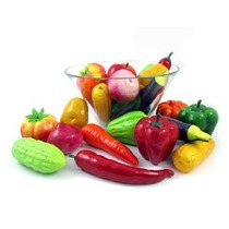Conjunto De 24 Verduras Artificiales Realistas Set De Juegos