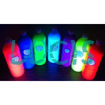 Pintura Fluorescnete Neon Glow Para Aventar Al Cuerpo Lucis