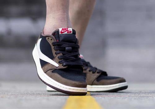 Tenis Nike Air Jordan 1 Travis Scott Low en venta en San