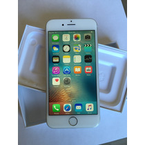 Iphone 6 64gb Plata Impecable Apple Desbloqueado Imei Caja