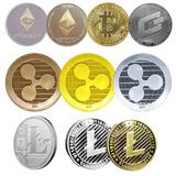 Criptomonedas Paquete Con 5 Bitcoin Ripple Ethereum Liteco