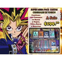 Super Mega Pack De Cartas De Yugioh!!