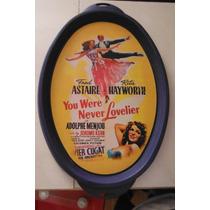 Charola Fred Astaire Rita Hayworth Retro Vintage Italia Euro