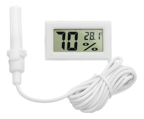 Higrómetro Termómetro Medidor Temperatura Humedad Con Sonda