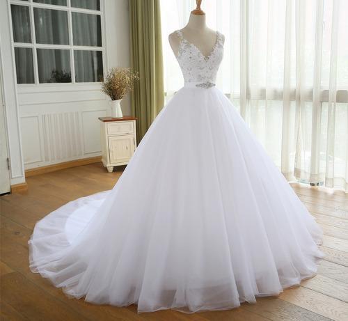 Hermoso Vestido Novia Español Foto Real Dress Wedding Bepe 2