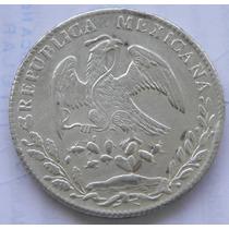 Moneda 8 Reales 1880 J D Culiacan Excelente Ef Escasa