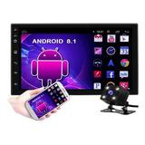 Auto Estéreo Android  8.1 Pantalla Touch Wifi Gps+camara