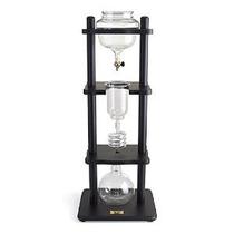 Yama Glass 8.6 Copa Fría Goteo Fabricante De Madera Negro Re